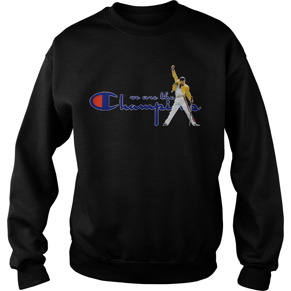 Boston Red Sox Freddie Mercury We Are The Champions Sweater
