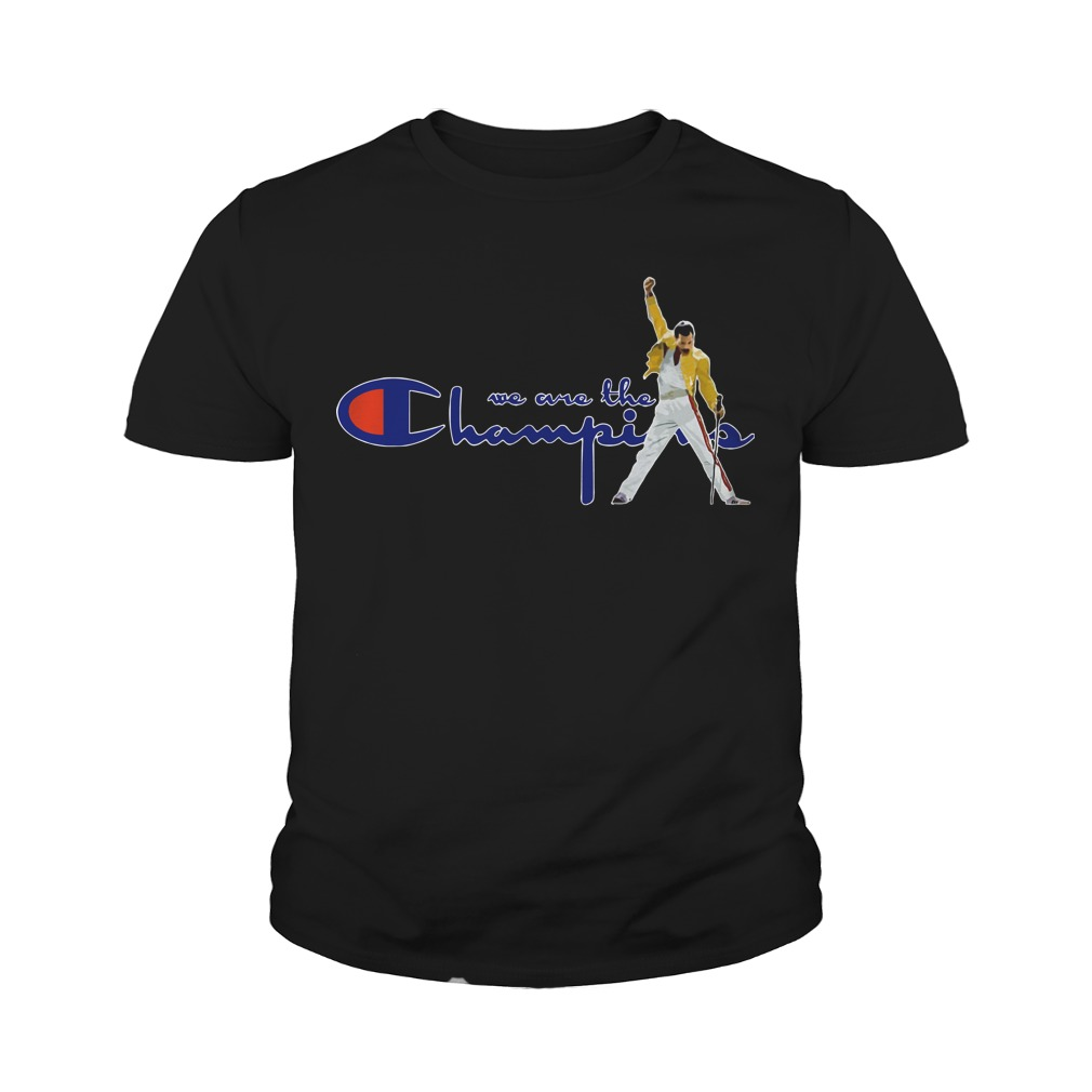 Boston Red Sox Freddie Mercury We Are The Champions Youth Tee