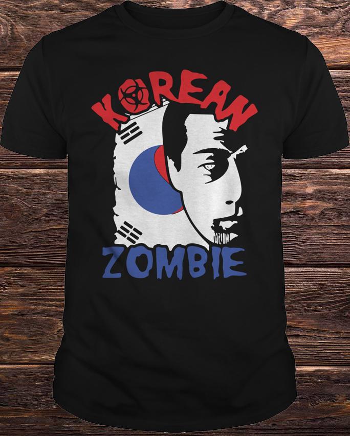Chan Sung Jung Korean Zombie Walkout Shirt