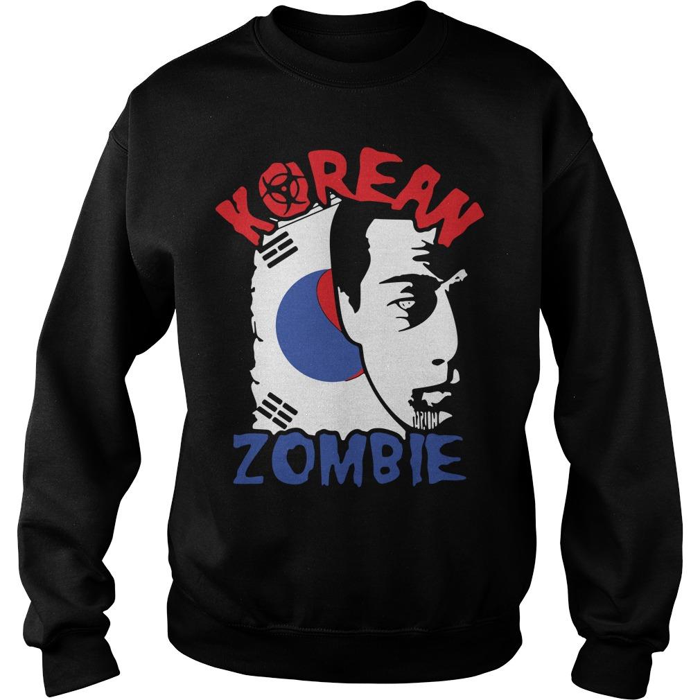Chan Sung Jung Korean Zombie Walkout Sweater