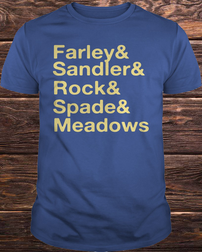 Jonah Hill Farley & Sandler & Rock & Spade & Meadows Shirt