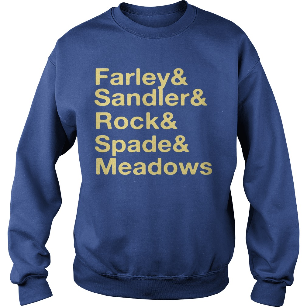 Jonah Hill Farley & Sandler & Rock & Spade & Meadows Sweater