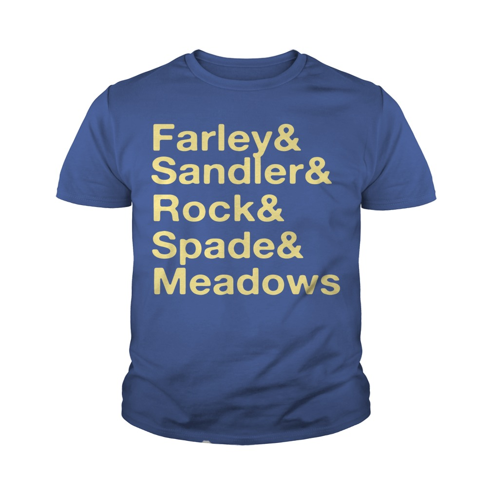 Jonah Hill Farley & Sandler & Rock & Spade & Meadows Youth Tee