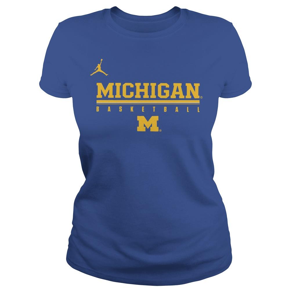 8ab464e86e4e Jordan Michigan Basketball Wolverines Ladies