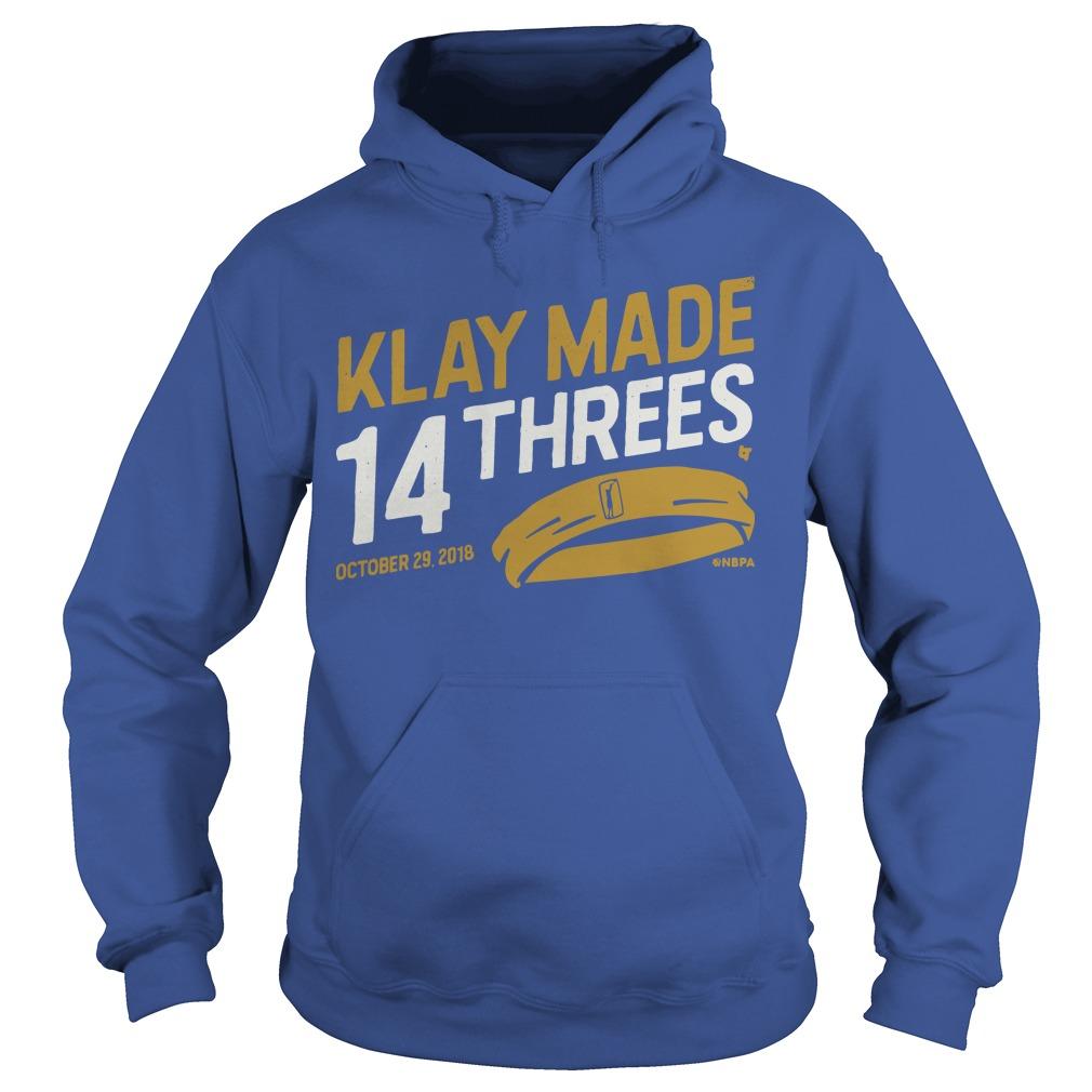 Klay Made 14 Threes Hoodie