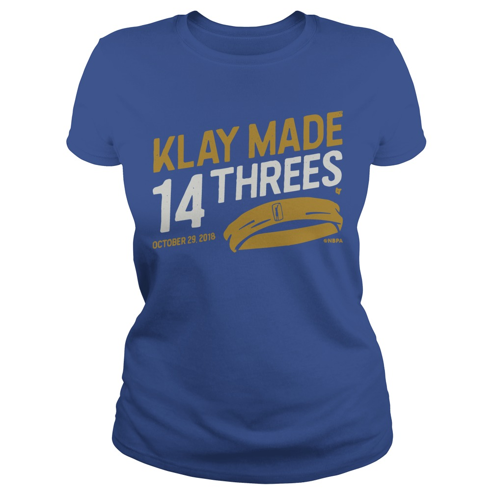 Klay Made 14 Threes Ladies