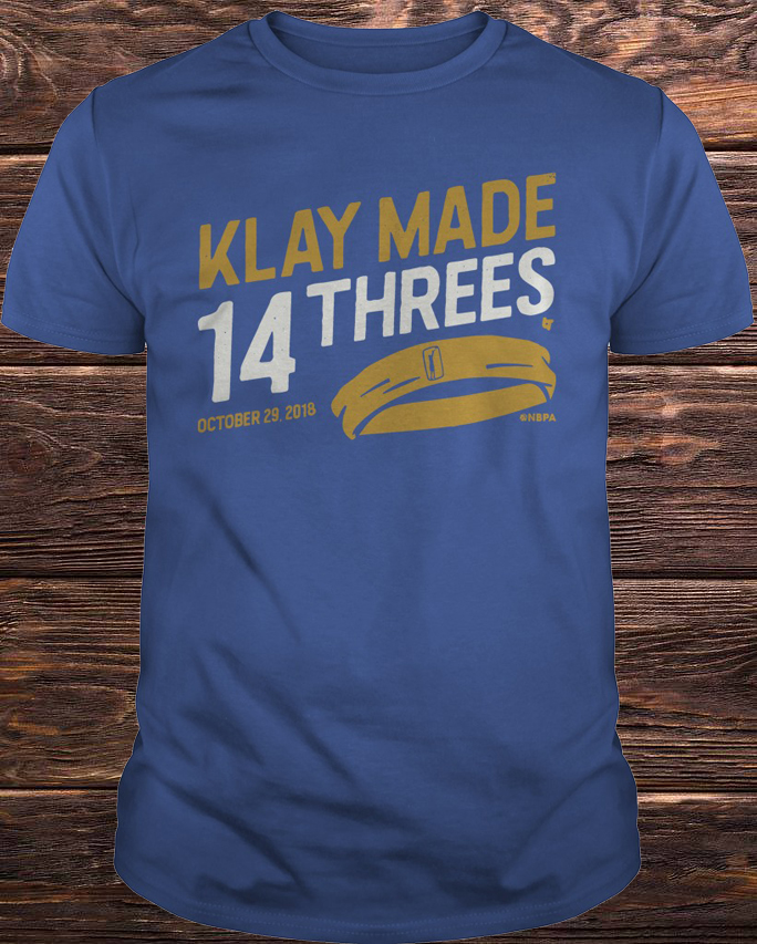 Klay Made 14 Threes Shirt