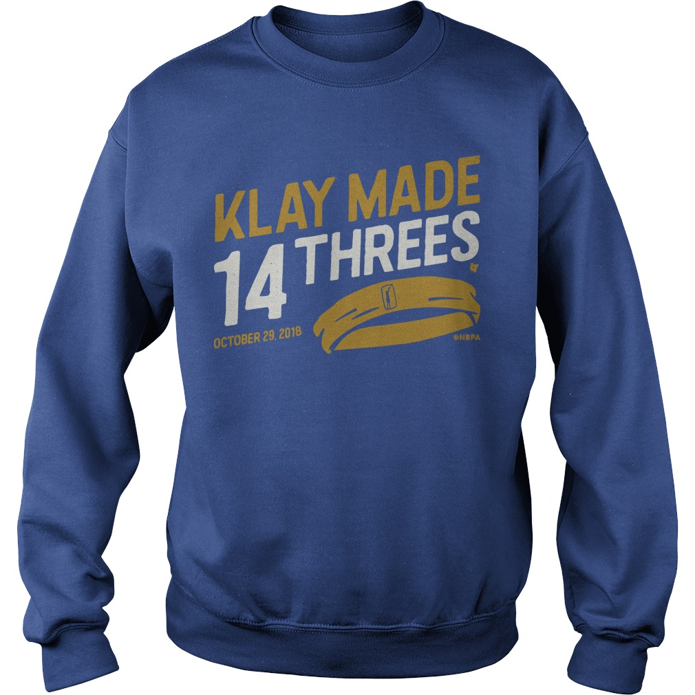 Klay Made 14 Threes Sweater