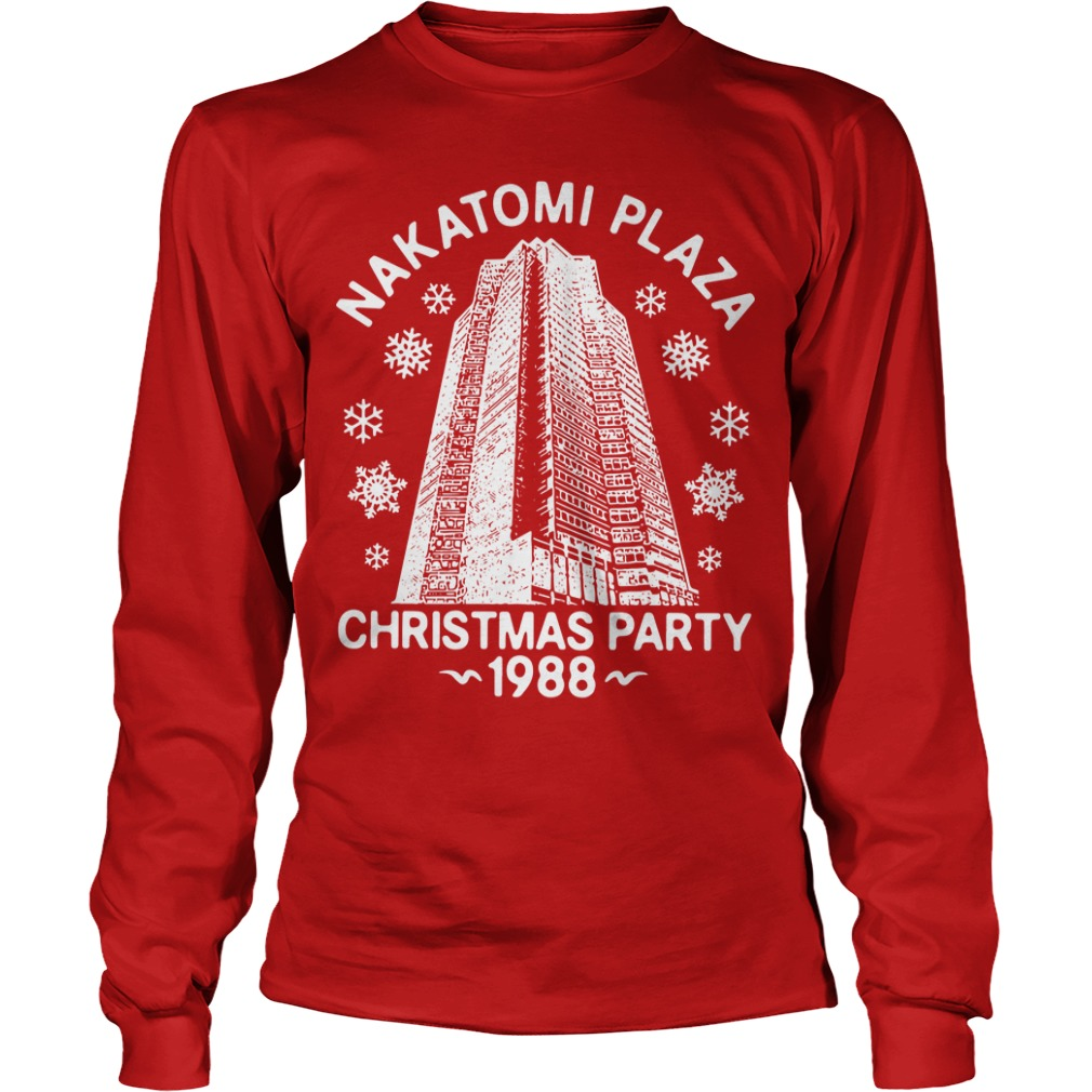 Nakatomi Plaza Christmas Party 1988 Longsleeve Tee