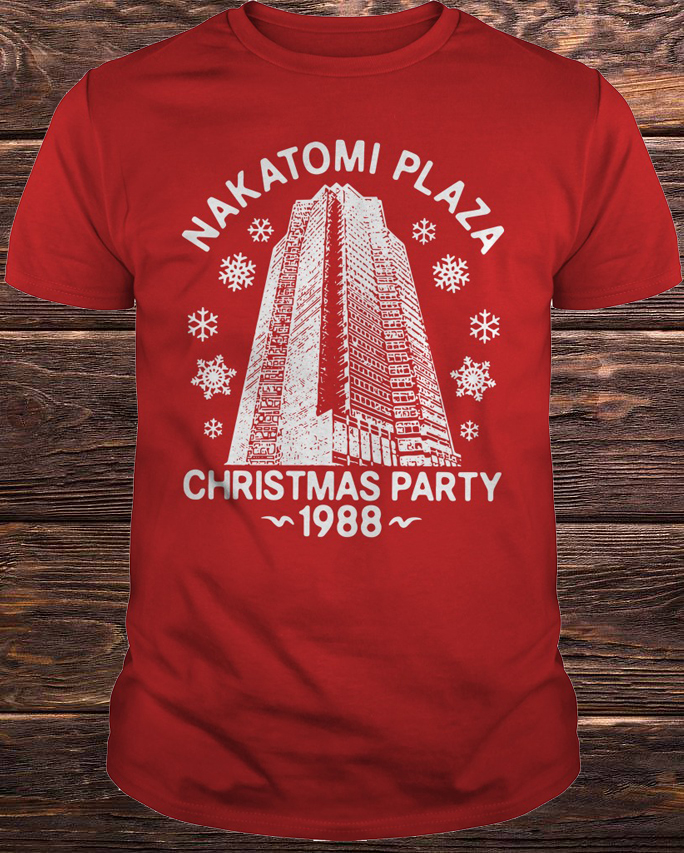 Nakatomi Plaza Christmas Party 1988 Shirt