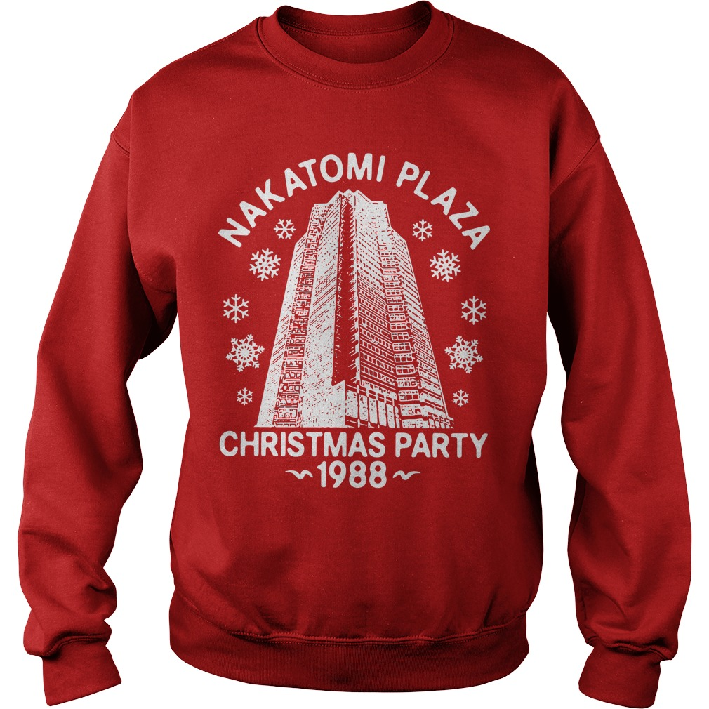 Nakatomi Plaza Christmas Party 1988 Sweater