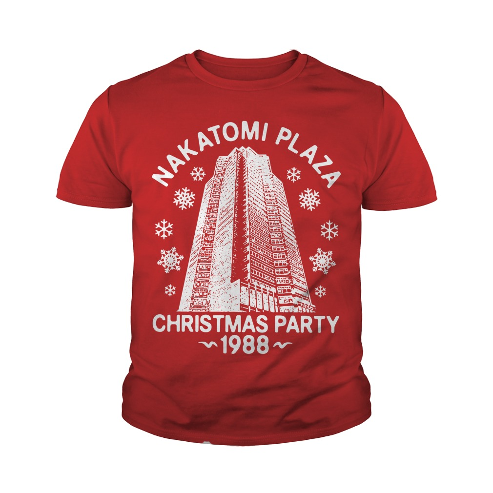 Nakatomi Plaza Christmas Party 1988 Youth Tee