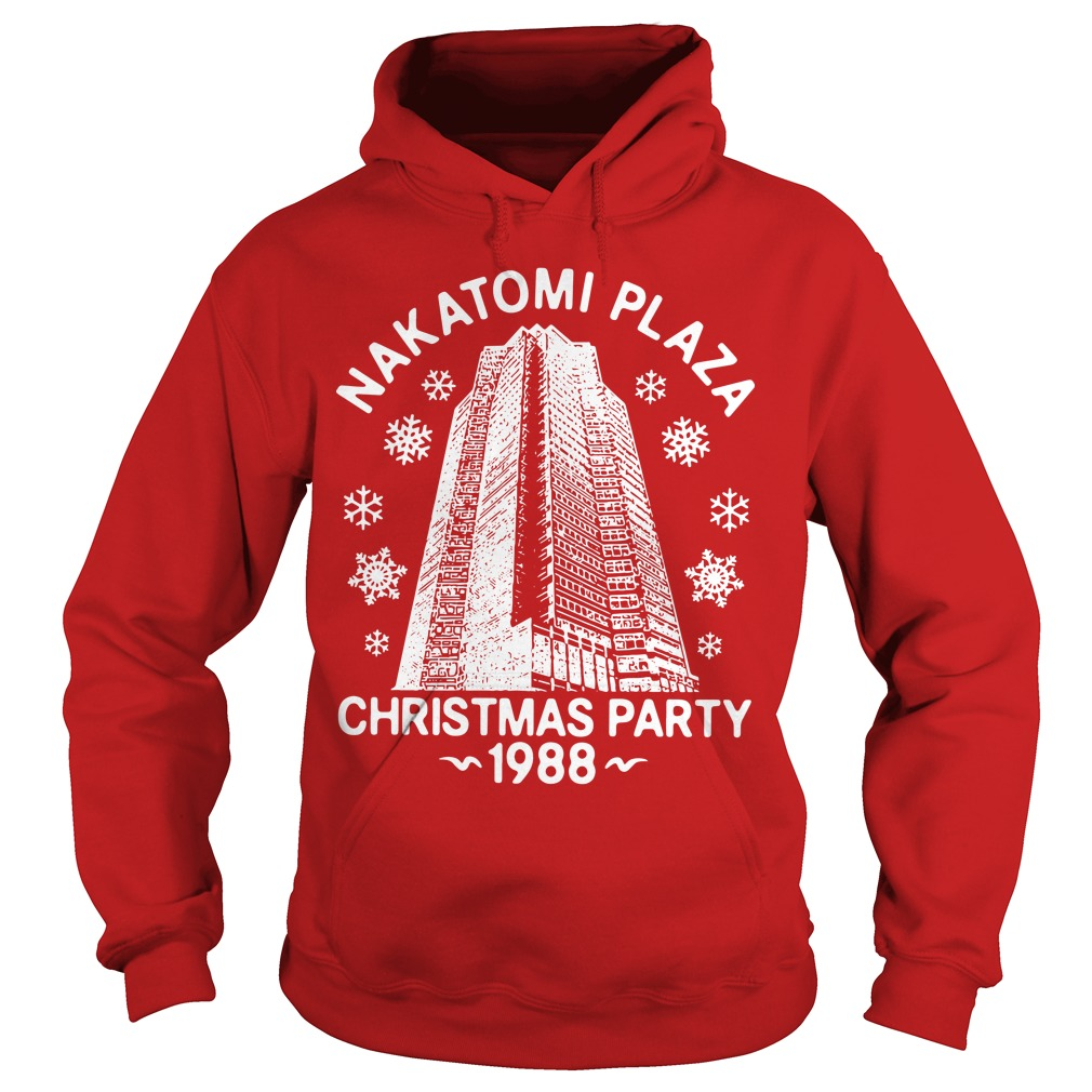 Nakatomi Plaza Christmas Party 1988 Hoodie