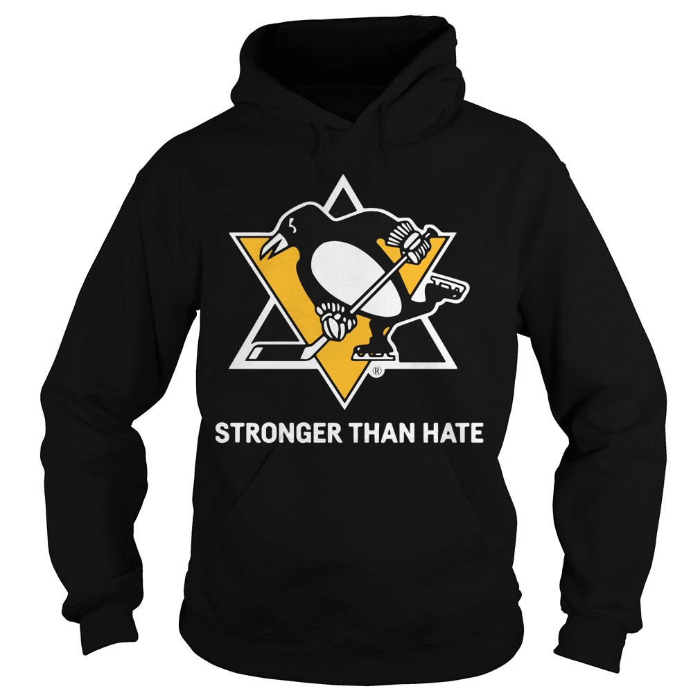 Pittsburgh Penguins Stronger Than Hate Hoodie