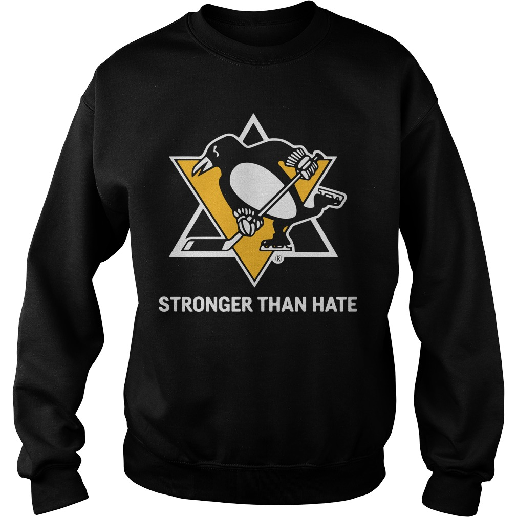 Pittsburgh Penguins Stronger Than Hate Sweater
