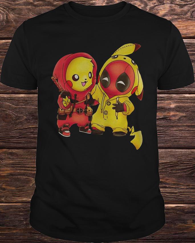 d3df3425 Ryan Reynolds Pikachu Deadpool Shirt, Hoodie, Tank Top And Sweater