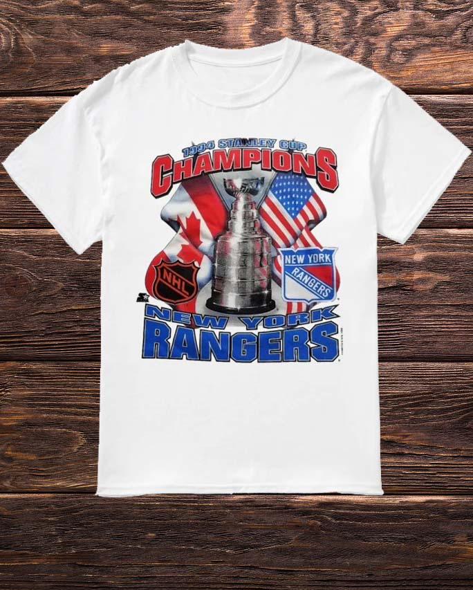 1994 Stanley Cup Champions New York Rangers Shirt
