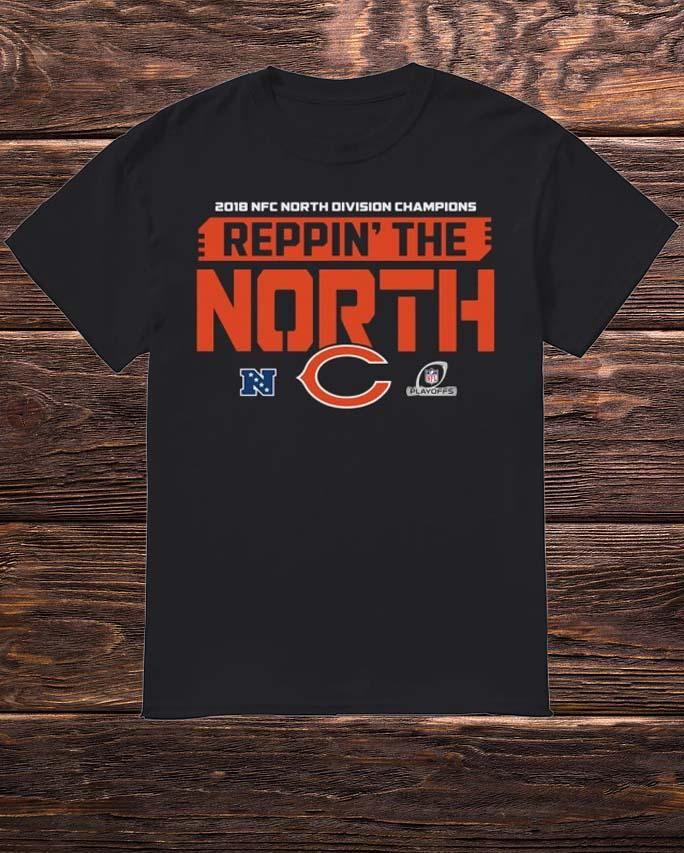 2018 Nfc North Division Champions Reppin The North Bears Shirt