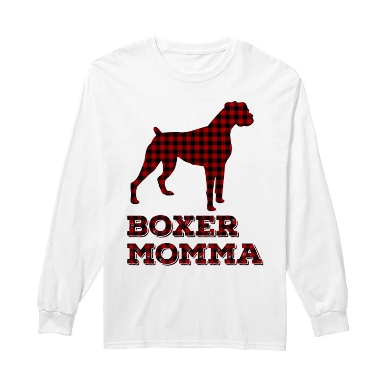 Boxer Momma Longsleeve Tee