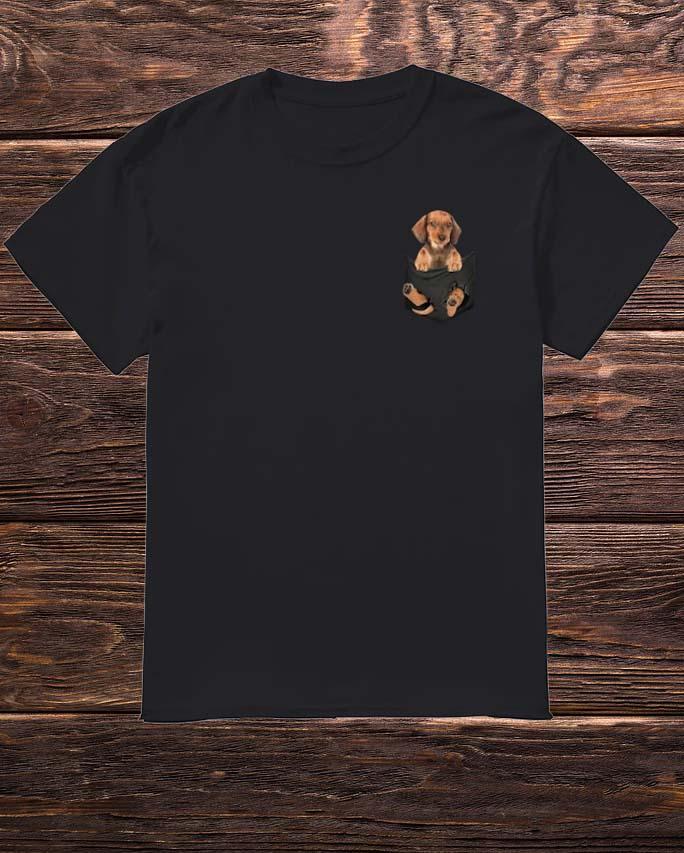 Dachshund Pocket Shirt