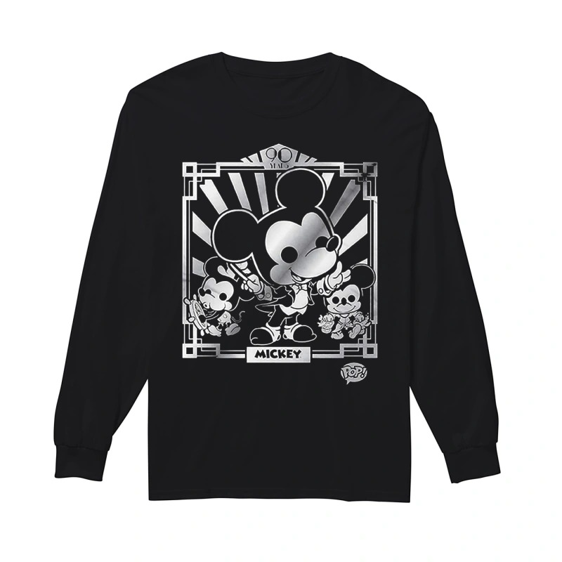 Disney Mickey's 90th Longsleeve Tee