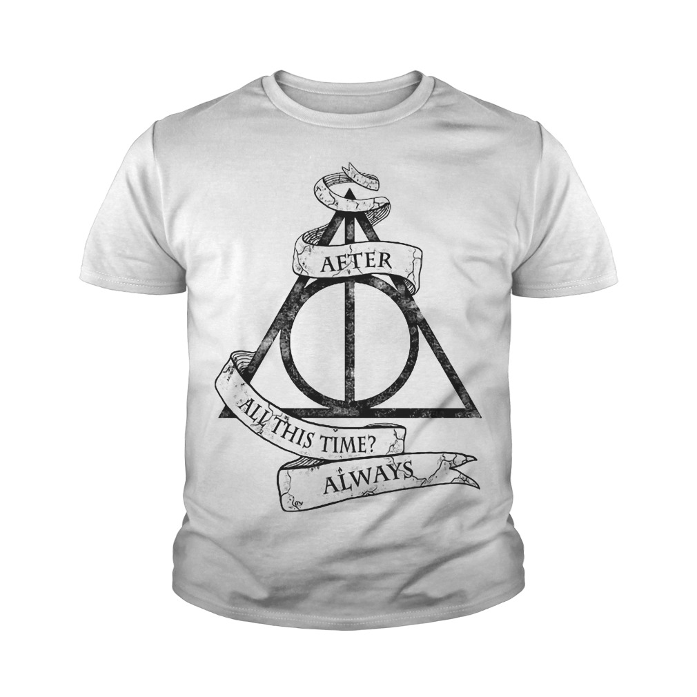 Harry Potter After All This Time Always Youth Tee