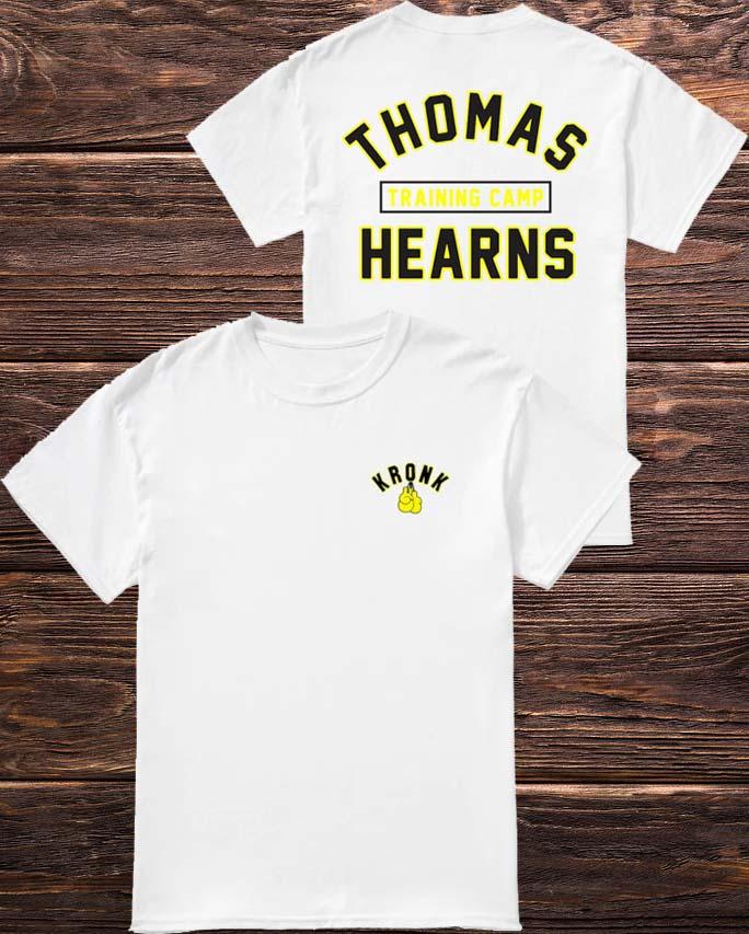 KRONK Boxing Thomas Hearns Training Camp T Shirt