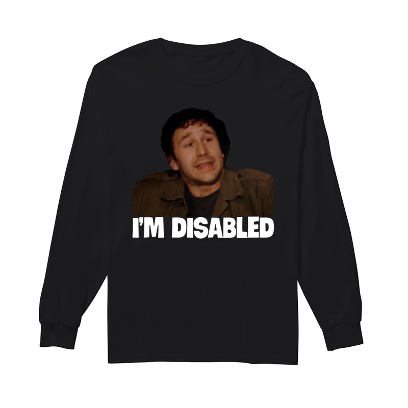 Lee Ridley I'm Disabled Longsleeve Tee