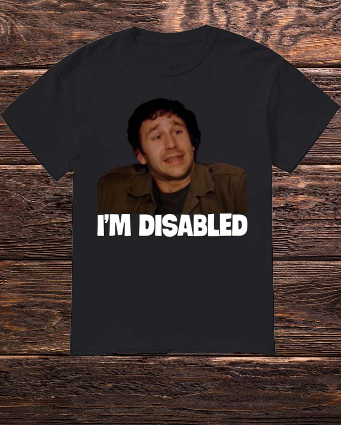 Lee Ridley I'm Disabled Shirt