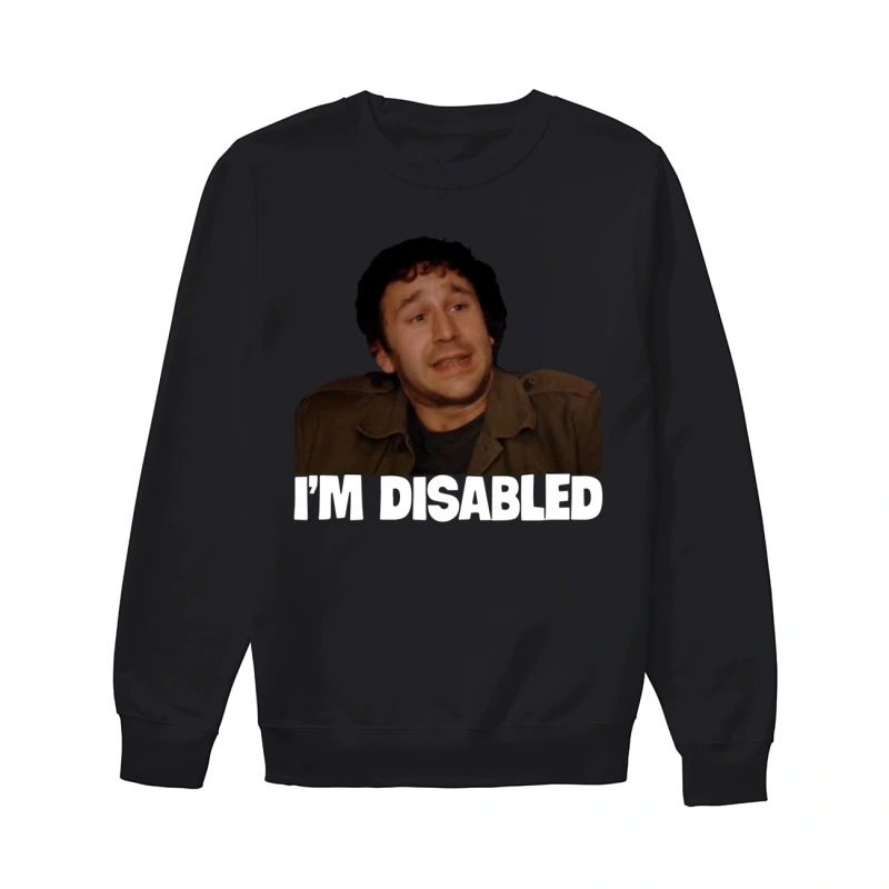 Lee Ridley I'm Disabled Sweater