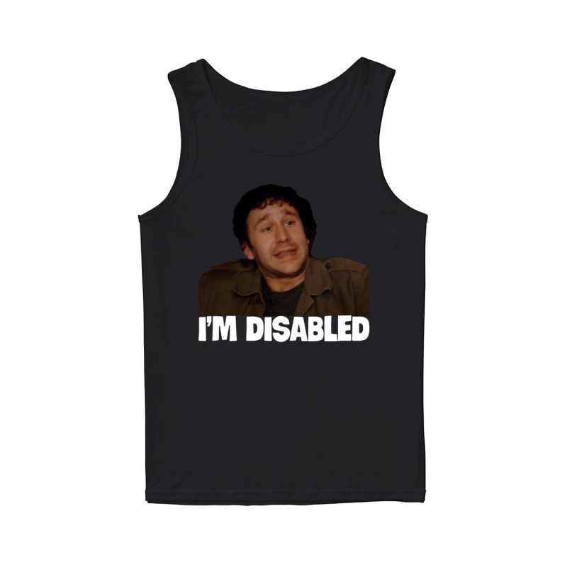 Lee Ridley I'm Disabled Tank Top