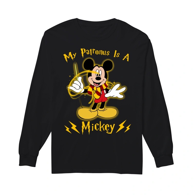 My Patronus Is Mickey Mouse Longsleeve Tee