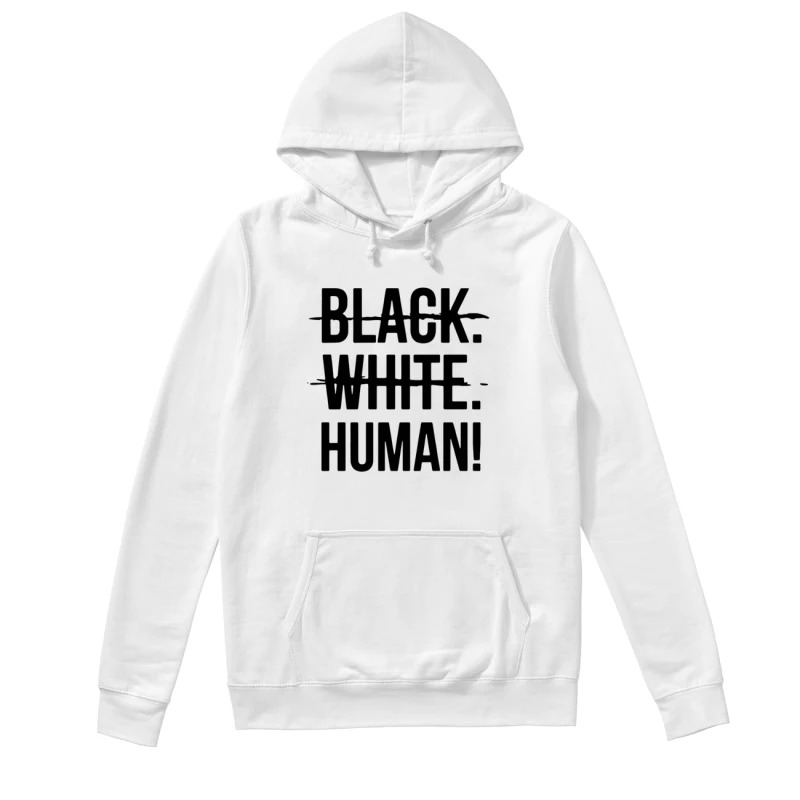 Mike Colter Black White Human Hoodie