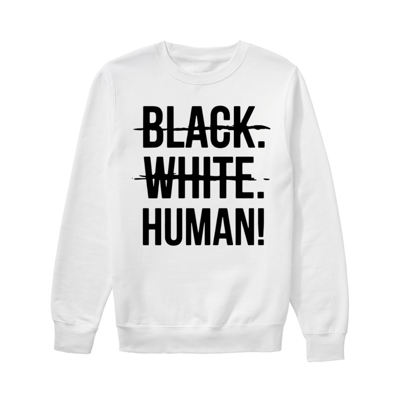 Mike Colter Black White Human Sweater