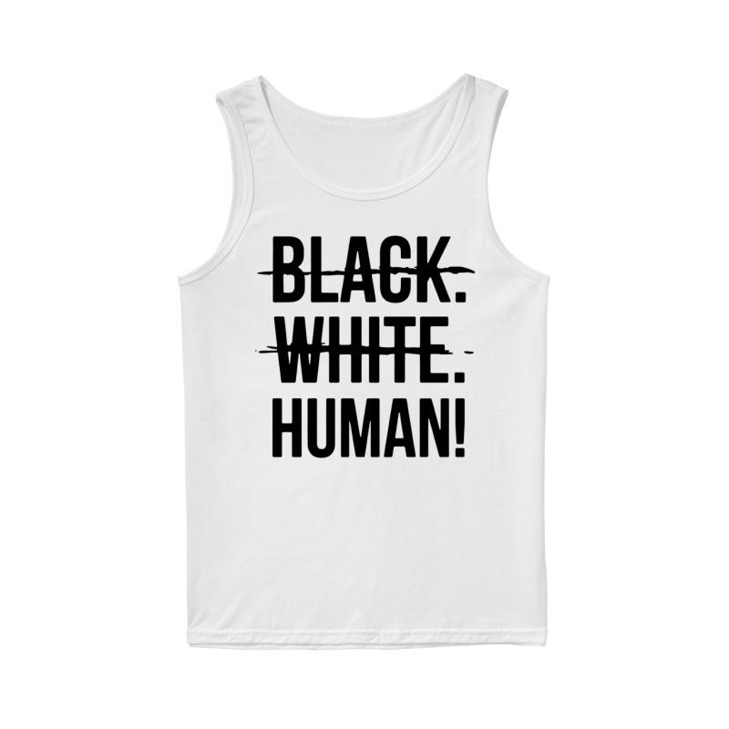 Mike Colter Black White Human Tank Top