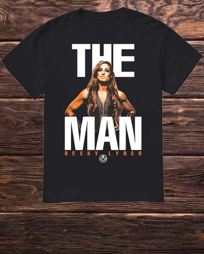 Mineral Wash The Man Becky Lynch Shirt