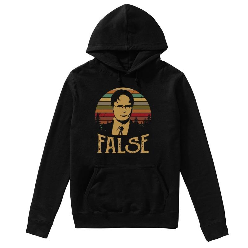 Official Sunset Dwight Schrute False Hoodie