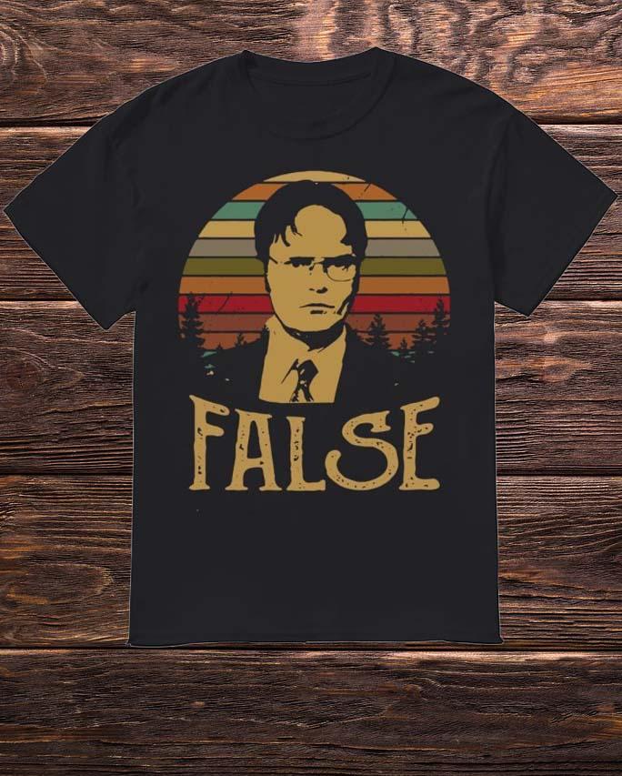 Official Sunset Dwight Schrute False Shirt