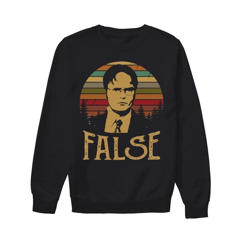 Official Sunset Dwight Schrute False Sweater