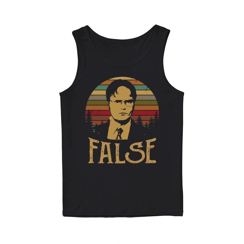 Official Sunset Dwight Schrute False Tank Top
