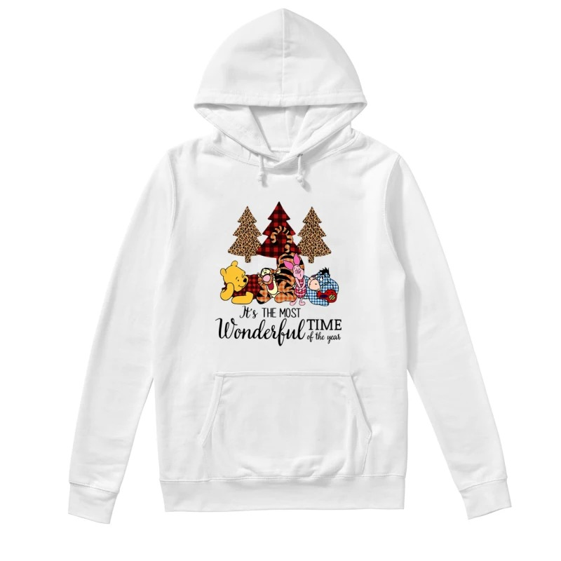 Official Winnie The Pooh It's The Most Wonderful Time Of The Year Hoodie