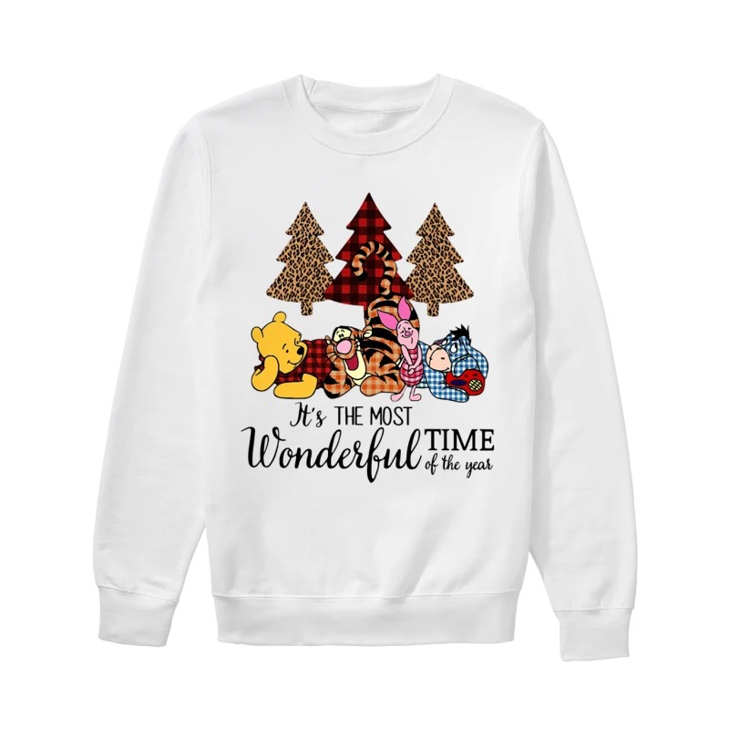 Official Winnie The Pooh It's The Most Wonderful Time Of The Year Sweater
