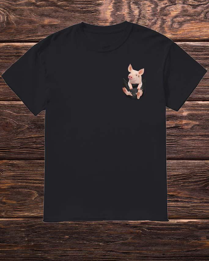 Pig In Pocket Shirt