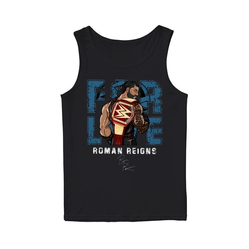 Roman Reigns WWE For Live Tank Top