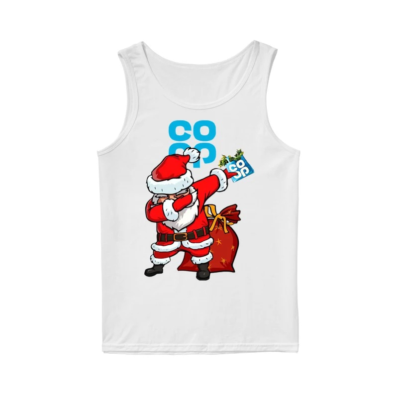 Santa Claus Dabbing Christmas Co Op Tank Top