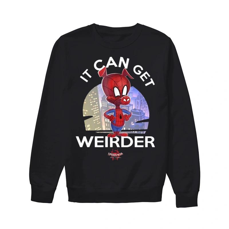 Spider Ham It Can Get Weirder Spider Man Sweater