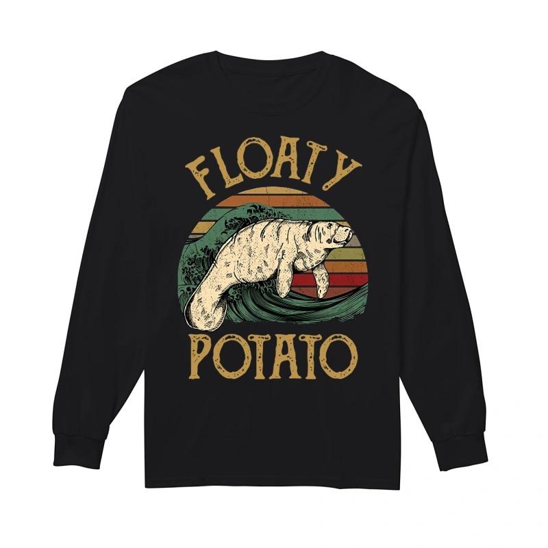 The Sunset Floaty Potato Longsleeve Tee