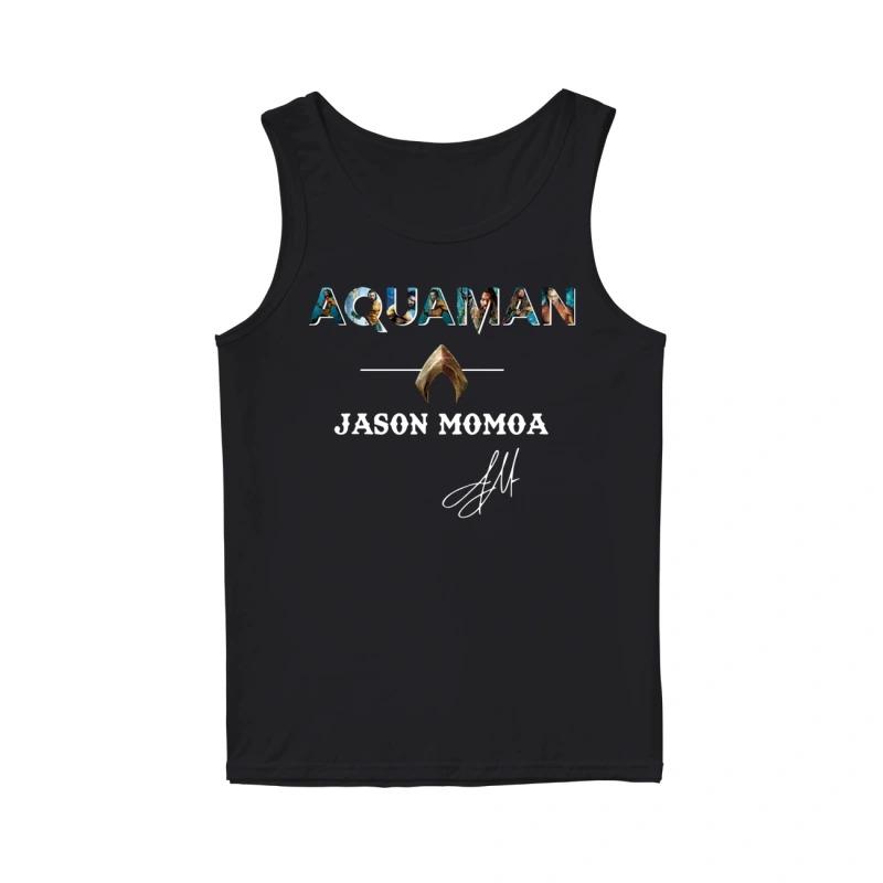 Atlantis Aquaman Jason Momoa Tank Top
