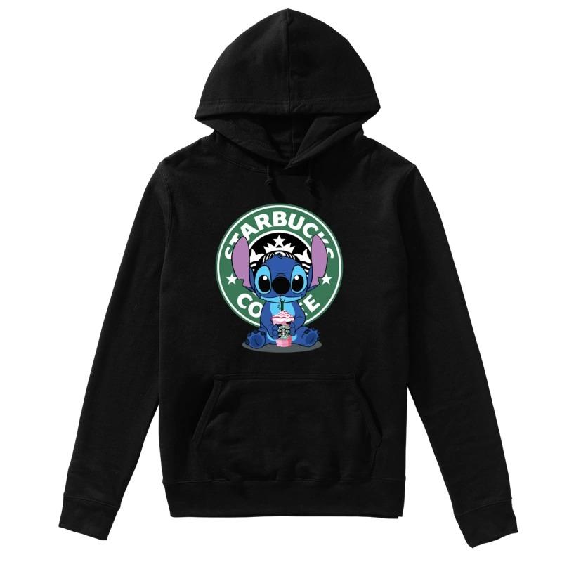 Baby Stitch Starbucks Coffee Hoodie