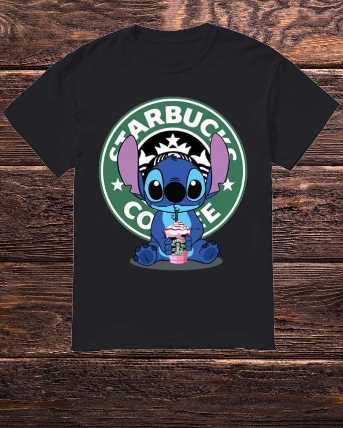 Baby Stitch Starbucks Coffee Shirt
